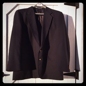 JOHN PEEL Men's Navy Blazer